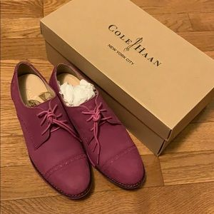 Suede Oxford Shoes - Cole Haan (NEW, with box)